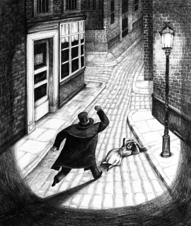 Illustration - Sébastien Mourrain - Doktor Jekyll & Mister Hyde (1)