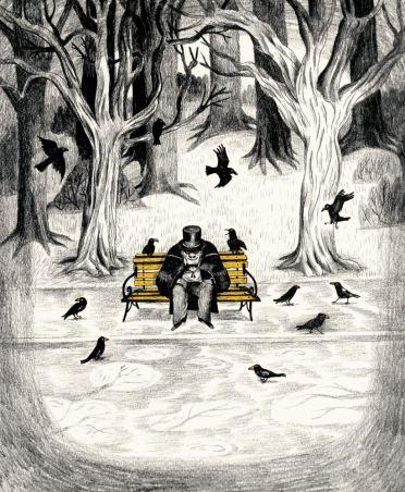 Illustration - Sébastien Mourrain - Doktor Jekyll & Mister Hyde (2)