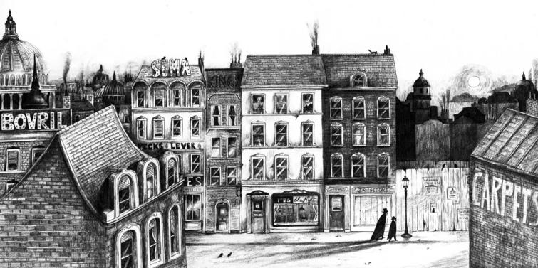 Illustration - Sébastien Mourrain - Doktor Jekyll & Mister Hyde (3)