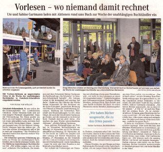 """03 Quelle """"Osterholzer-Kreisblatt"""" vom 13. November 2014; Seite 3"""