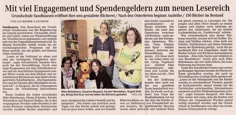 """04 Quelle """"Osterholzer-Kreisblatt"""" vom 25. März 2015; Seite 3"""