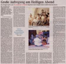 """07 Quelle """"Osterholzer-Kreisblatt Die Woche - Mein Verein"""" vom 24. Dezember 2017; Seite 1"""
