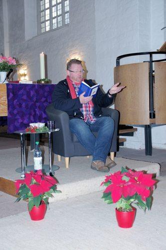"""08 """"Besinnliche Geschichten in der Kirche"""" zum Weihnachtsmarkt der St. Marien-Kirchengemeinde, Osterholz-Scharmbeck am 12.12.2015"""