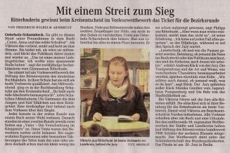 """08 Quelle """"Osterholzer-Kreisblatt"""" vom 23. Februar 2018; Seite 1 - a"""