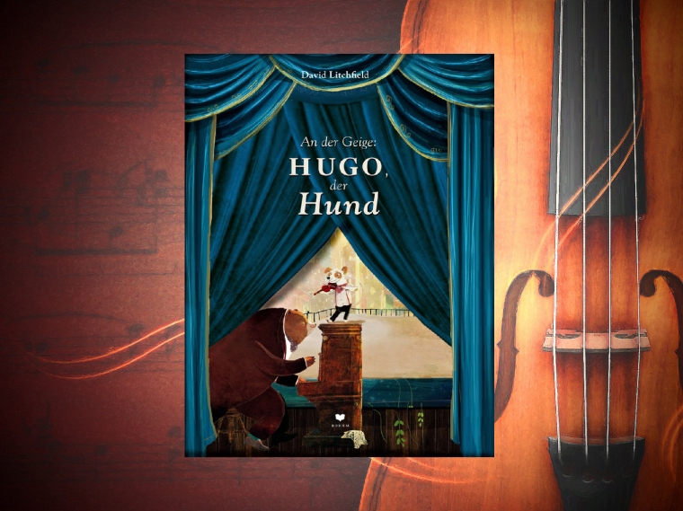 An der Geige Hugo, der Hund.jpg