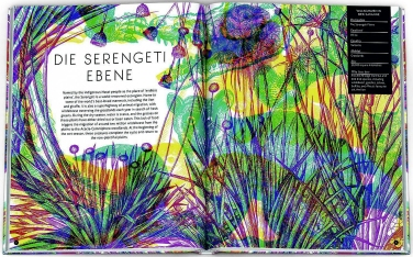 Magische Welten. Entdecke verborgene Lebensräume mit der Zauberlupe! - mit Illustrationen von Carnovsky, Text von Rachel Williams (1)