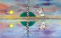 Illustrationen zu Kaninchentango - Daan Remmerts de Vries, Ingrid & Dieter Schubert (2)
