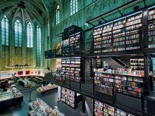 Foto Horst A. Friedrichs - Buchhandlungen. Eine Liebeserklärung - Boekhandel Dominicanen, Maastricht