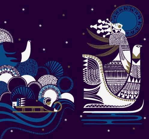 Die Schneekönigin - Illustration von Sanna Annukka