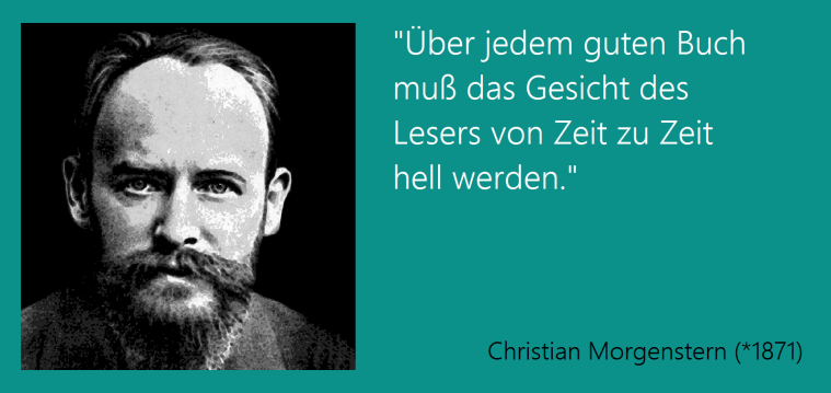 Christian Morgenstern - 06.05.1871