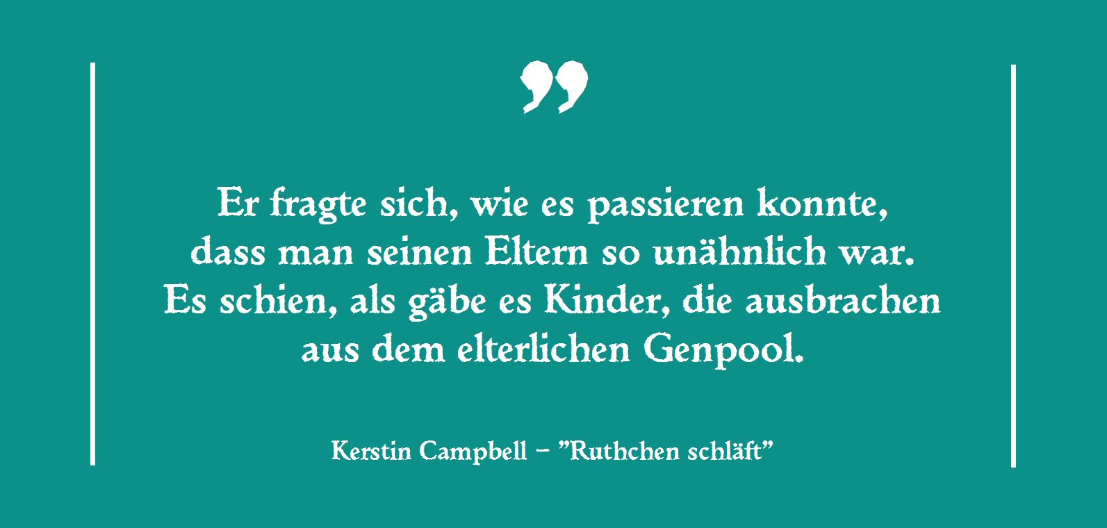 Kerstin Campebell - Ruthchen schläft