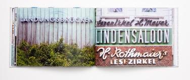 "Hamburger Ladenschilder von A-Z, Doppelseite ""L"", Junius Verlag, 2010, Junius Verlag, 2010"