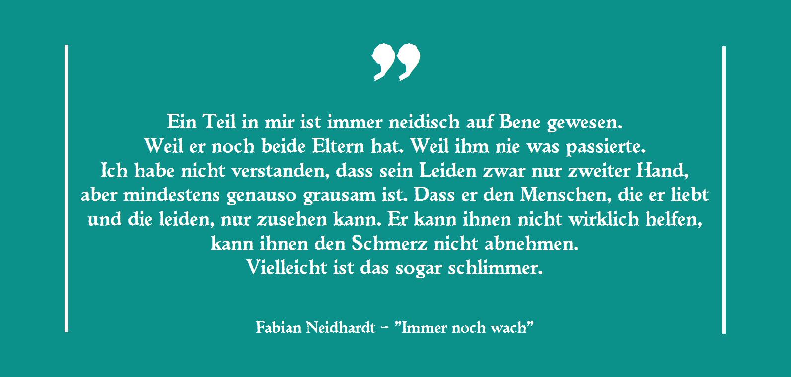Fabian Neidhardt - Immer noch wach