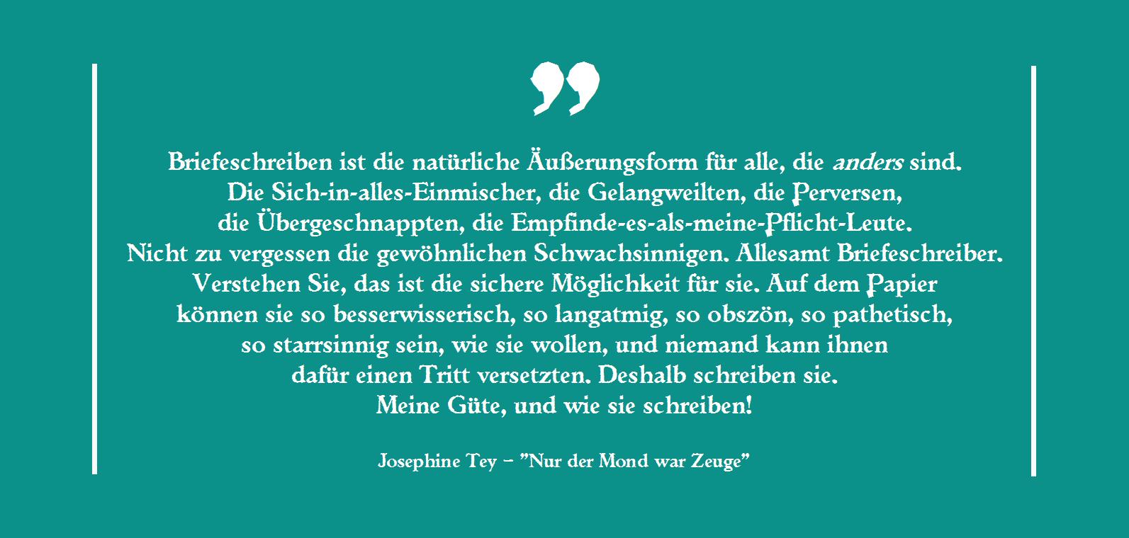 Josephine Tey - Nur der Mond war Zeuge