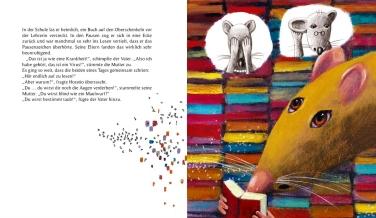 Hör auf zu lesen! - Illustration Sylvie Serprix - Text Claire Gratias (2)