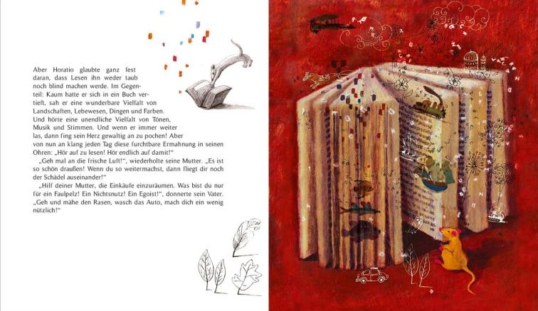 Hör auf zu lesen! - Illustration Sylvie Serprix - Text Claire Gratias (3)